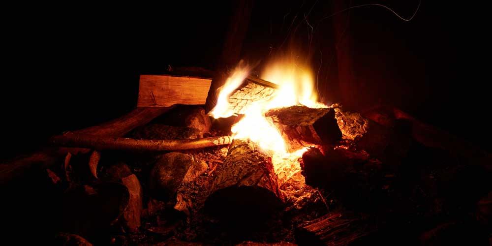 ACH Fire Pit Winter Post